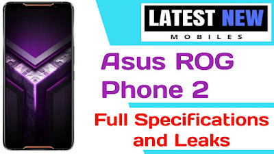 Asus ROG Phone 2 full specifications