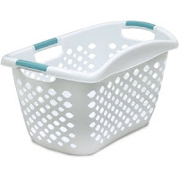 Image of a laundry basket used for exercise