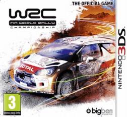 Rom WRC FIA World Rally Championship 3DS