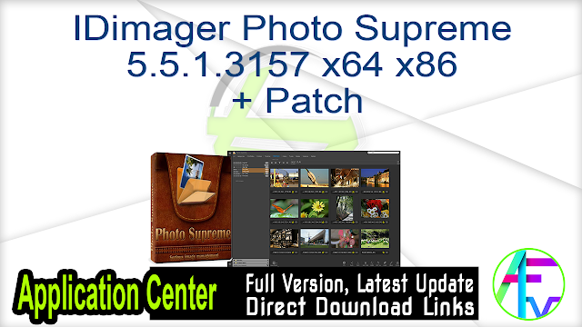 IDimager Photo Supreme 5.5.1.3157 x64 x86 + Patch