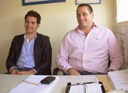 Santiago Cafiero y Leandro Martin