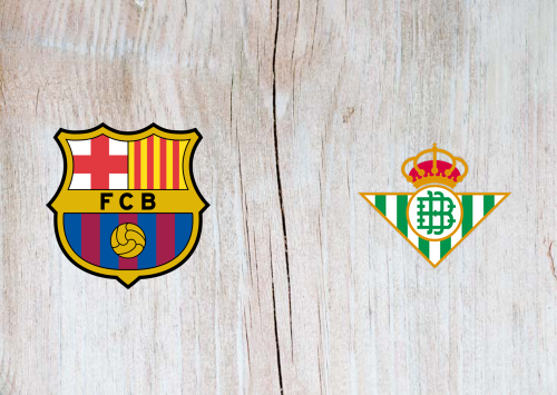 Barcelona vs Real Betis -Highlights 07 November 2020