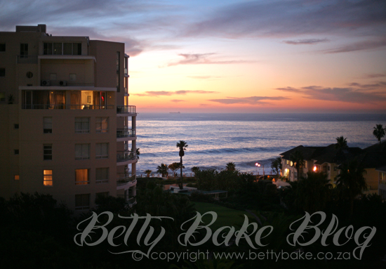 bantry bay, protea hotel, the president hotel, sunset, betty bake blog, view,