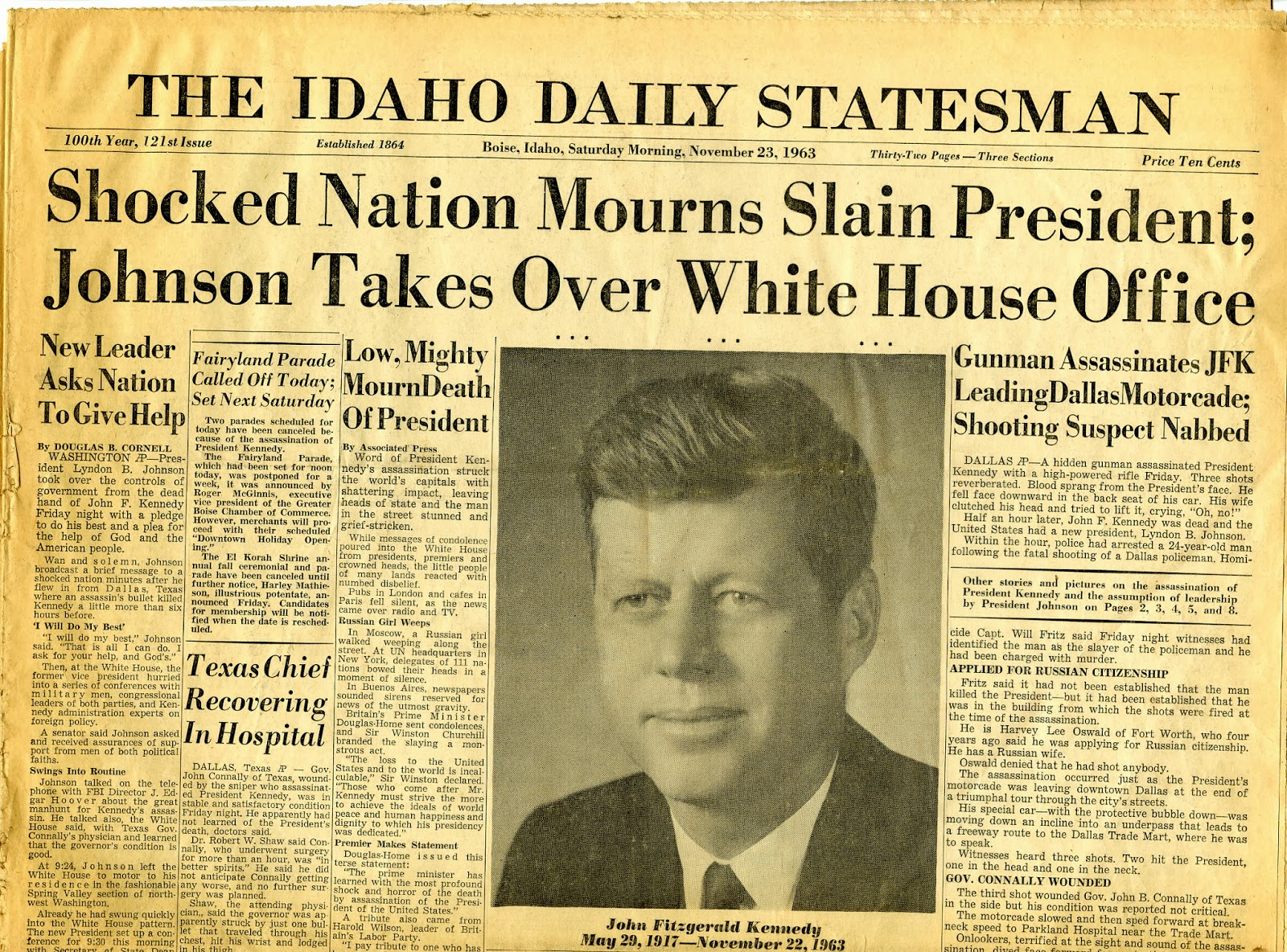 thelibrary news and resources from albertsons library at boise   thelibrary news and resources from albertsons library at boise state university 50th anniversary of jfk s assassination