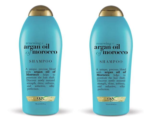 3- OGX Renewing Plus Argan Oil of Morocco Shampoo