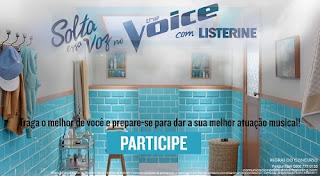 Promoção Sola Essa Voz No The Voice Com Listerine