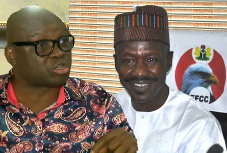 EFCC Magu and Fayose