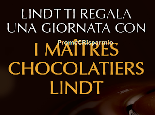 Logo Con Lindt vinci una giornata con i Maitres Chocolatiers