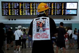 हांगकांग में हारा चीन