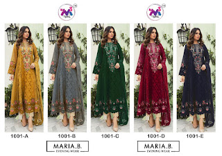 M3 Fashion Maria b Shades Pakistani Suits Wholesaler