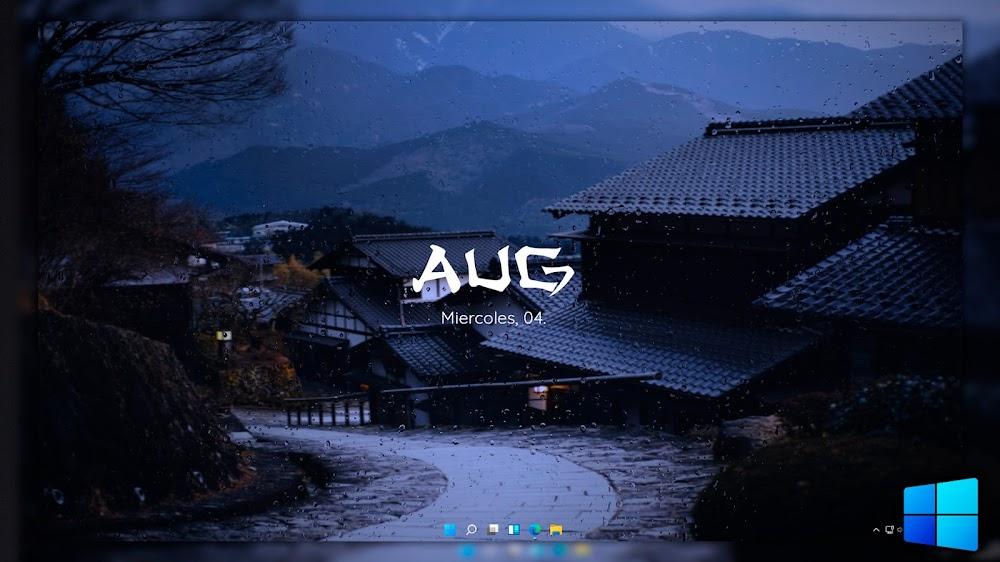 Tema Windows 11 Japonés 👘