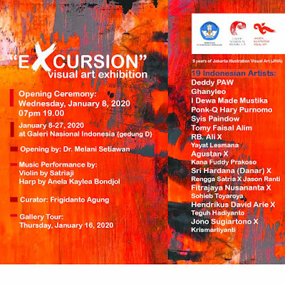 excursion exhibition at galeri nasional indonesia