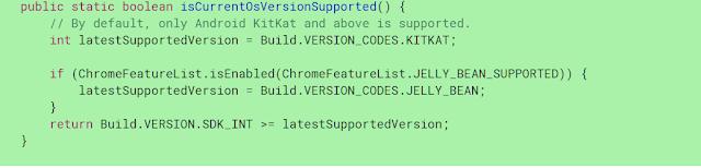 Google Chrome Akan Memberhentikan Support untuk Android 4.1-4.3 Jelly Bean
