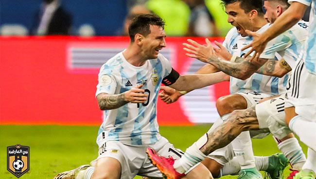الأرجنتين تتوج بطلاً لبطولة كوبا أمريكا 2021 علي حساب البرازيل