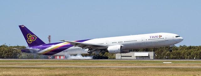 Самолет Боинг Thai Airways