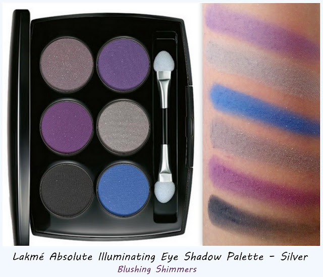 Lakme Absolute Illuminating Silver Eye Shadow Palette