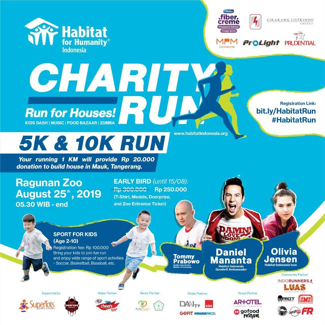 Habitat Charity Run • 2019
