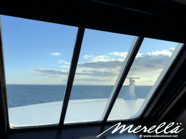 Tallinnaan laivalla Baltic Queen Tallink