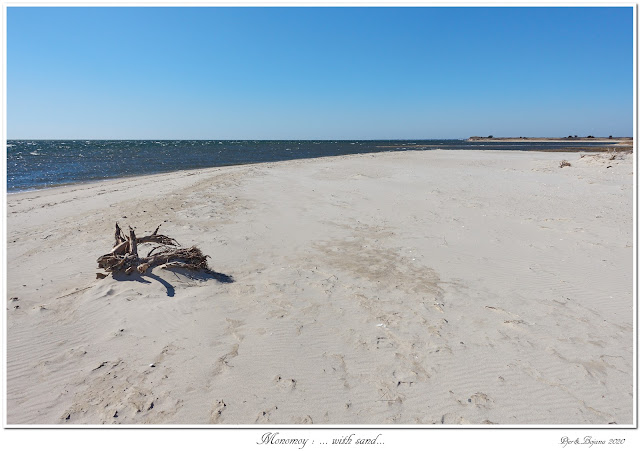 Monomoy: ... with sand...