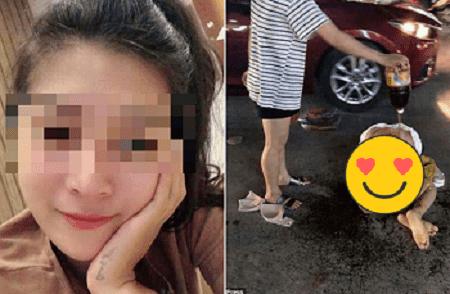 Sikat Suami Orang, Wanita Ini Ditelanjangi Istri Sah Ditengah Jalan dan Tubuhnya Diolesi Sambal