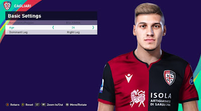 PES 2021 Faces Kiril Despodov by Rachmad ABs