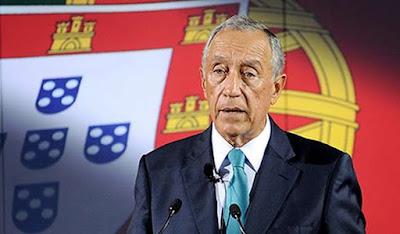 Resultado de imagem para Presidente da República, Marcelo Rebelo de Sousa