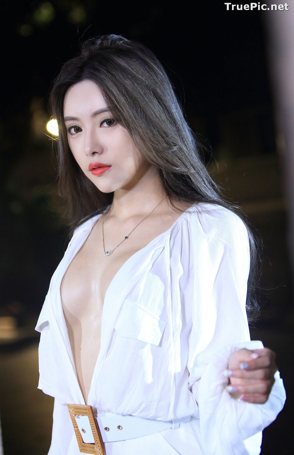 Image Taiwanese Model – 莊舒潔 (ViVi) – Sexy and Pure Baby In Night - TruePic.net - Picture-48