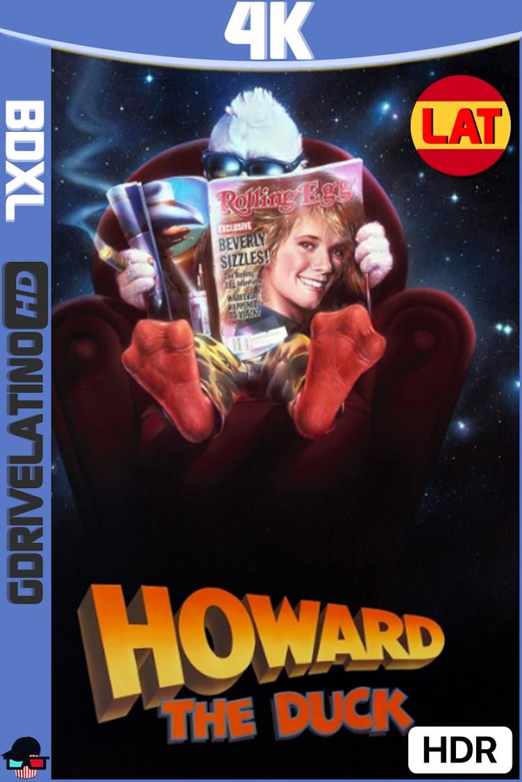 Howard : El Pato (1986) BDXL 4K UHD HDR Latino-Ingles ISO