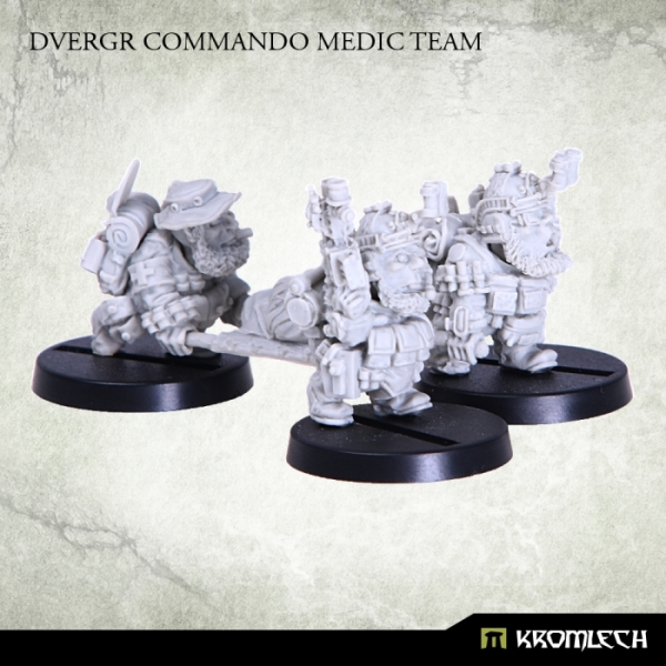 Review de Dvergr Commando Medic Team - Kromlech