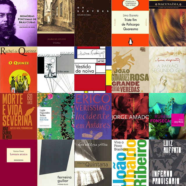 Dica: 50 Livros Essenciais da Literatura Brasileira