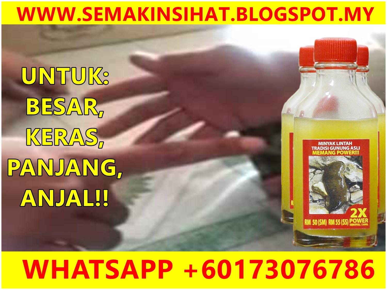 khasiat minyak lintah