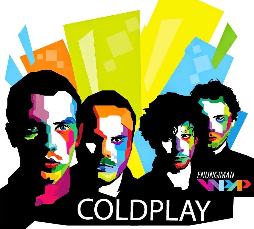 WPAP Of Coldplay COLDPLAY Coldplay cover Coldplay Fix you