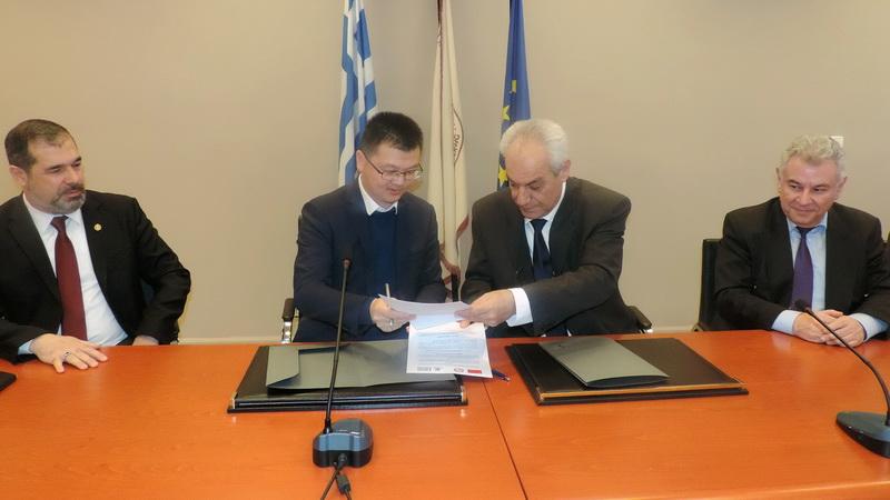 Υπογραφή Μνημονίου Συνεργασίας του ΔΠΘ με το Πανεπιστήμιο της Guangzhou της Κίνας