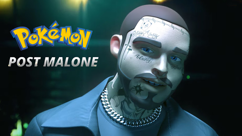 Pokémon 25 Anos - Post Malone