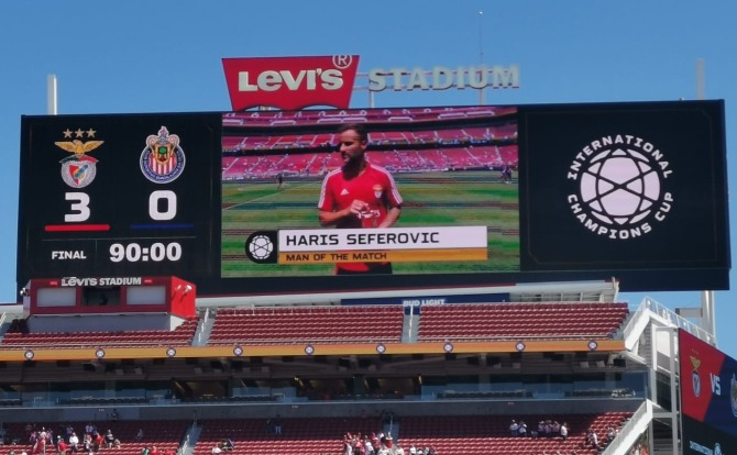Blog Benfica vs Chivas - International Champions Cup 2019