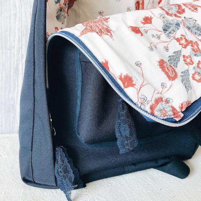 rucksack nähen, der andere rucksack, grinsestern, nähliebe, diy, selbermacher, freebook