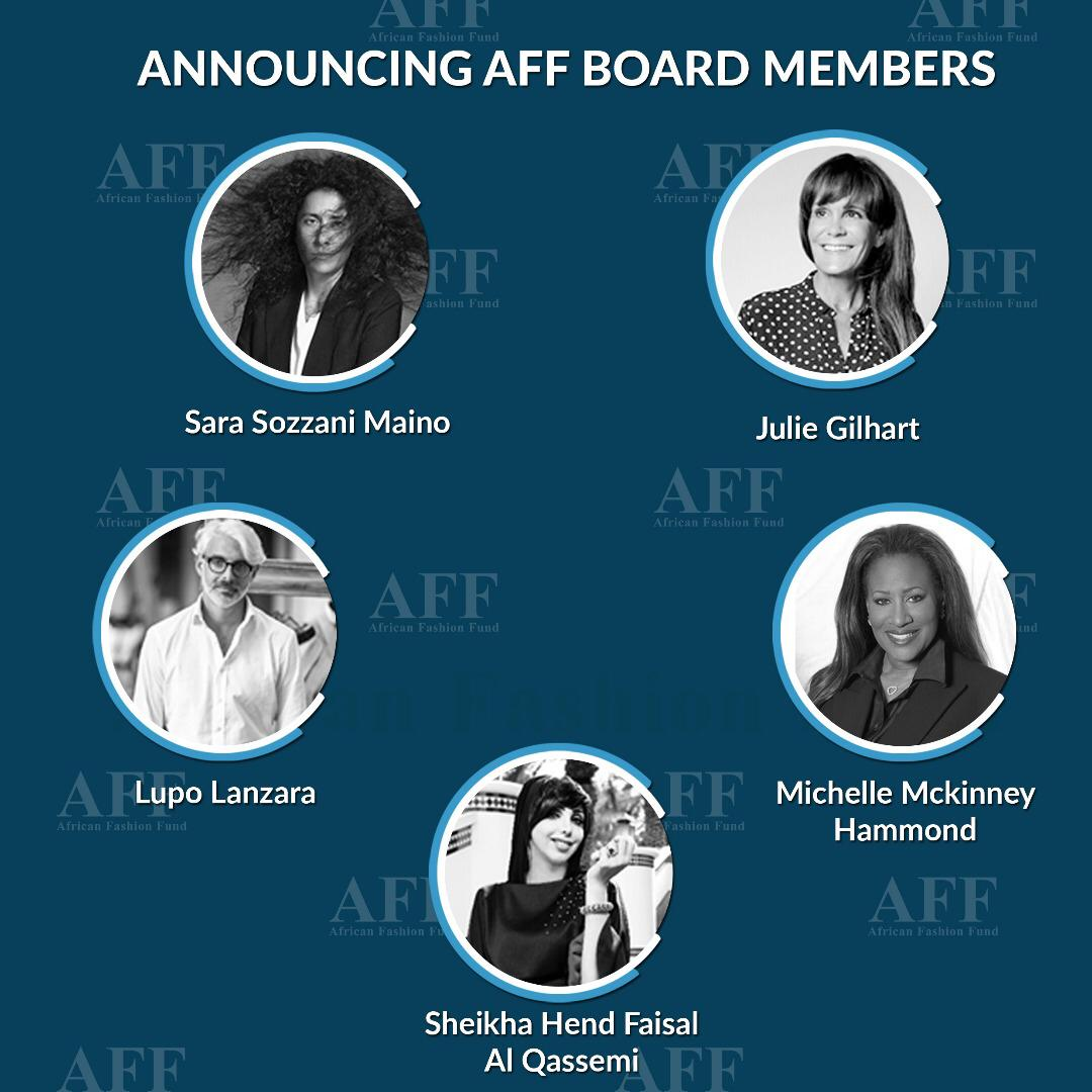 African Fashion Fund Announces Five New Board Members
