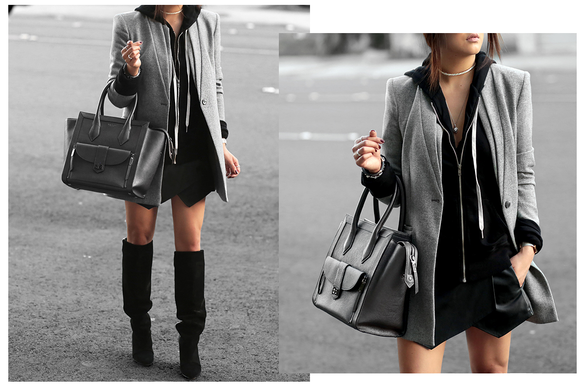 2af08a30708d how to style a hoodie - the Versastyle