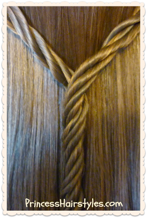 Licorice braid hair tutorial