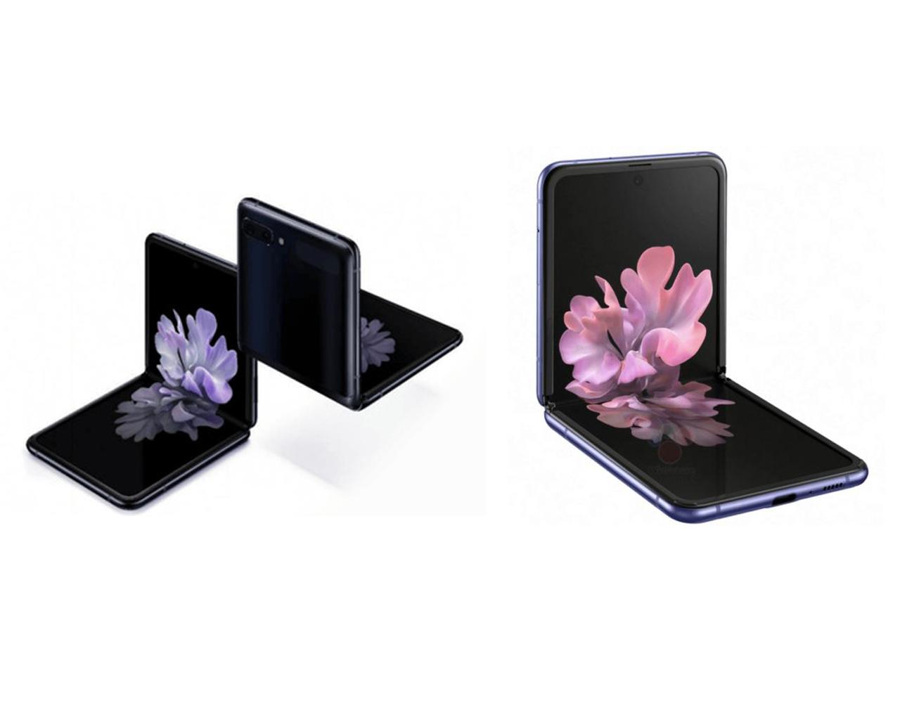 تسريب صور أكثر دقة لهاتف سامسونج القابل للطي Galaxy Z Flip