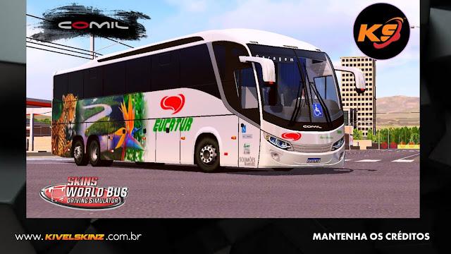 COMIL 1200 6X2 - VIAÇÃO EUCATUR
