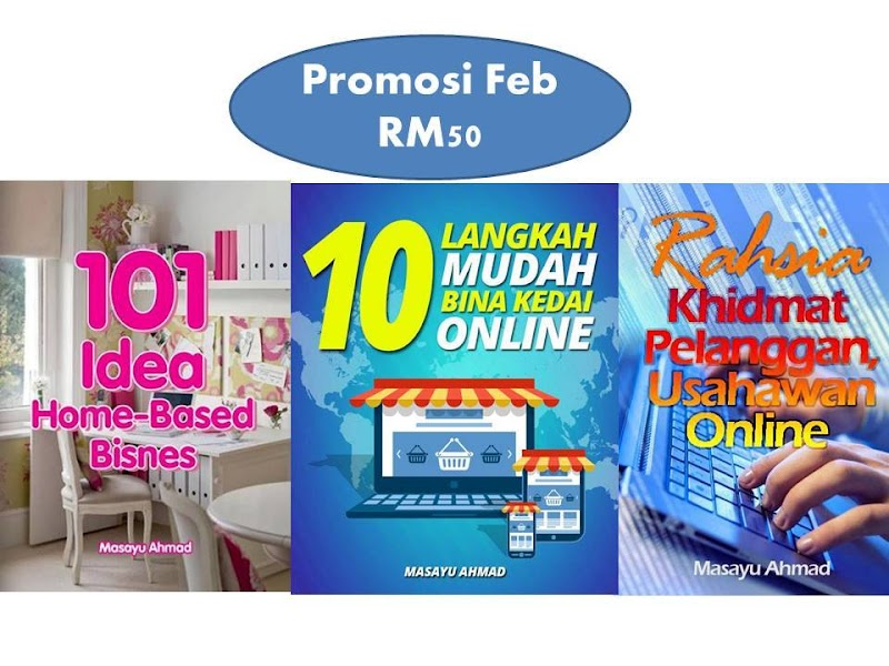 Promosi Februari 3 Ebook