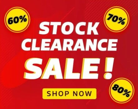 Amazon Clearance Sale up to Flat 60%  70%  80% Off on All products.