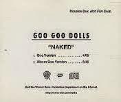 Goo Goo Dolls Naked Lyrics