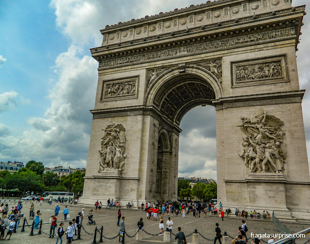 Arco do Triunfo, Paris