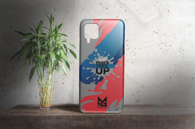 Mockup Hardcase 3D SAMSUNG Galaxy A12