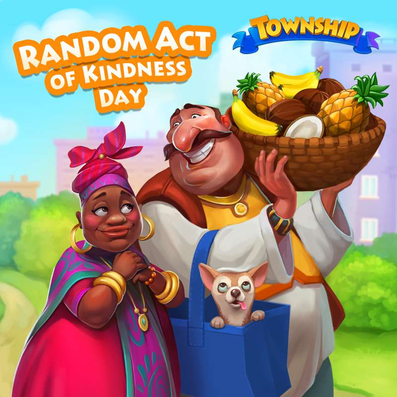 Random Act of Kindness Day Wishes Beautiful Image