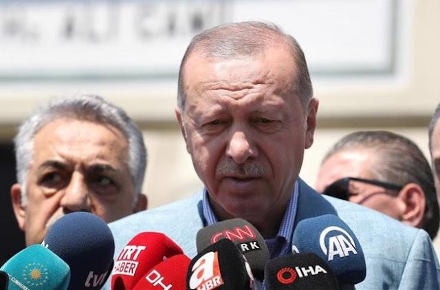 """Ερντογάν: """"Θα προστατεύσουμε τα συμφέροντα των Τουρκοκυπρίων"""""""