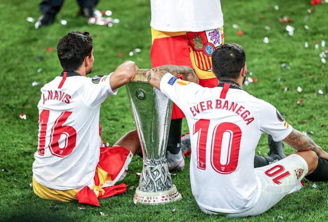 Navas Banega Copa