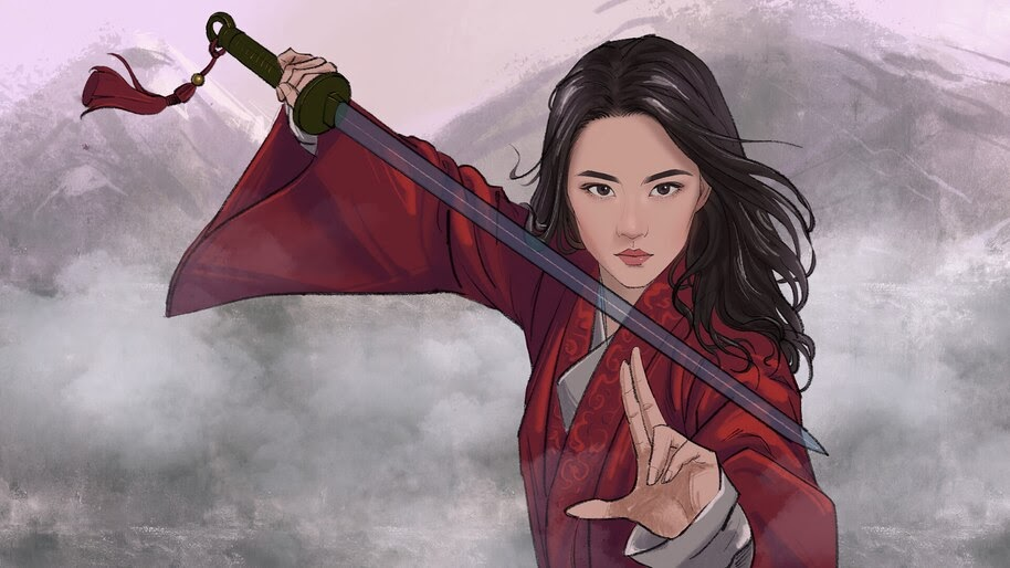 Mulan, 2020, Movie, Art, 4K, #7.1616
